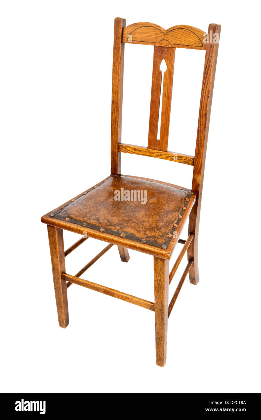 vintage oak dining chairs white wood rocking chair isolated stock photos image