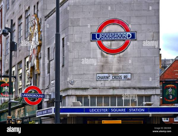 Leicester Square Stock & - Alamy
