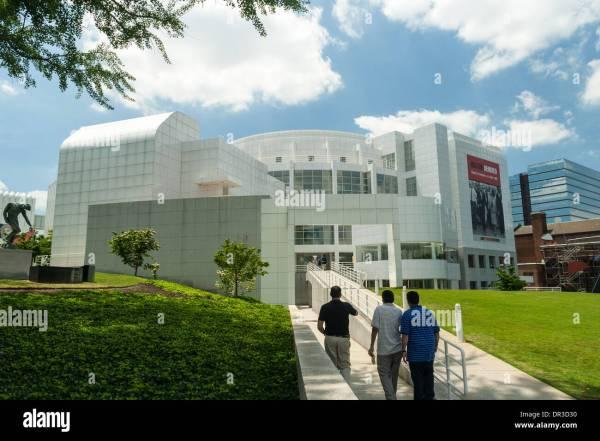 High Museum Of Art Atlanta Stock & - Alamy