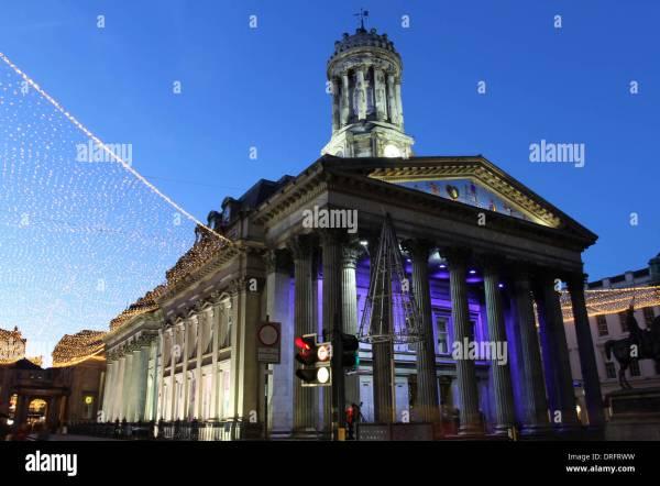 Glasgow Museum Of Modern Art Stock &