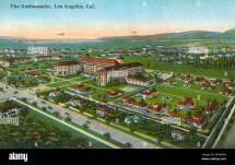 Ambassador Hotel Los Angeles California Usa Stock