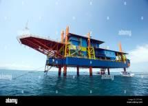 Chandelure Island Oil Rig Resort
