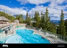 Banff Hot Springs Stock &