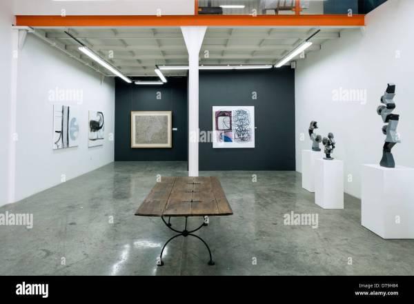 Interior Of Showcase Art Alserkal Avenue