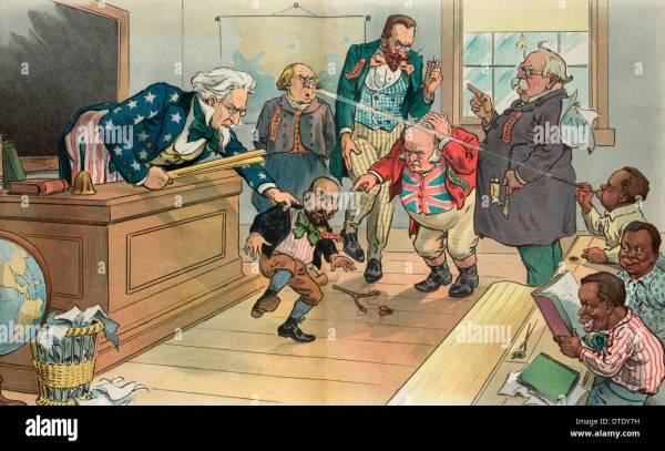 Cartoon Uncle Sam Classroom