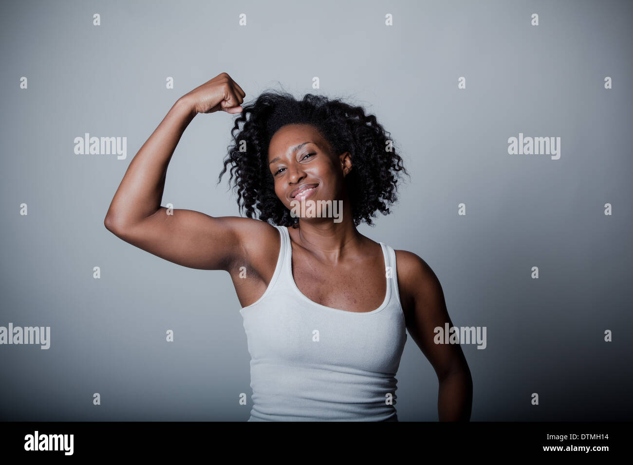 strong black woman in