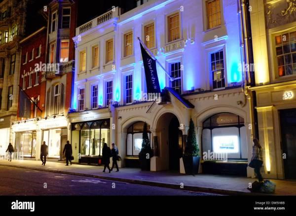 Sotheby' Auction House Bond Street London Stock