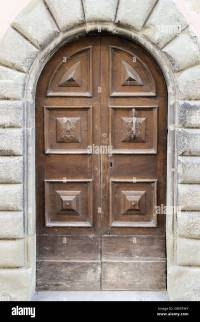 door, gate, old, wood, ancient, antique, portal, front ...