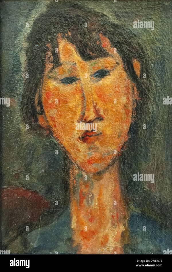 Amedeo Modigliani Woman