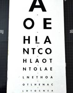 Eye examination traditional snellen chart used for visual acuity testing concept photo of health and medical care also rh alamy