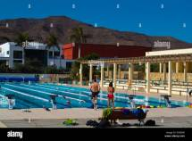 Olympic Size Swimming Pool Playitas Aparthotel Grounds