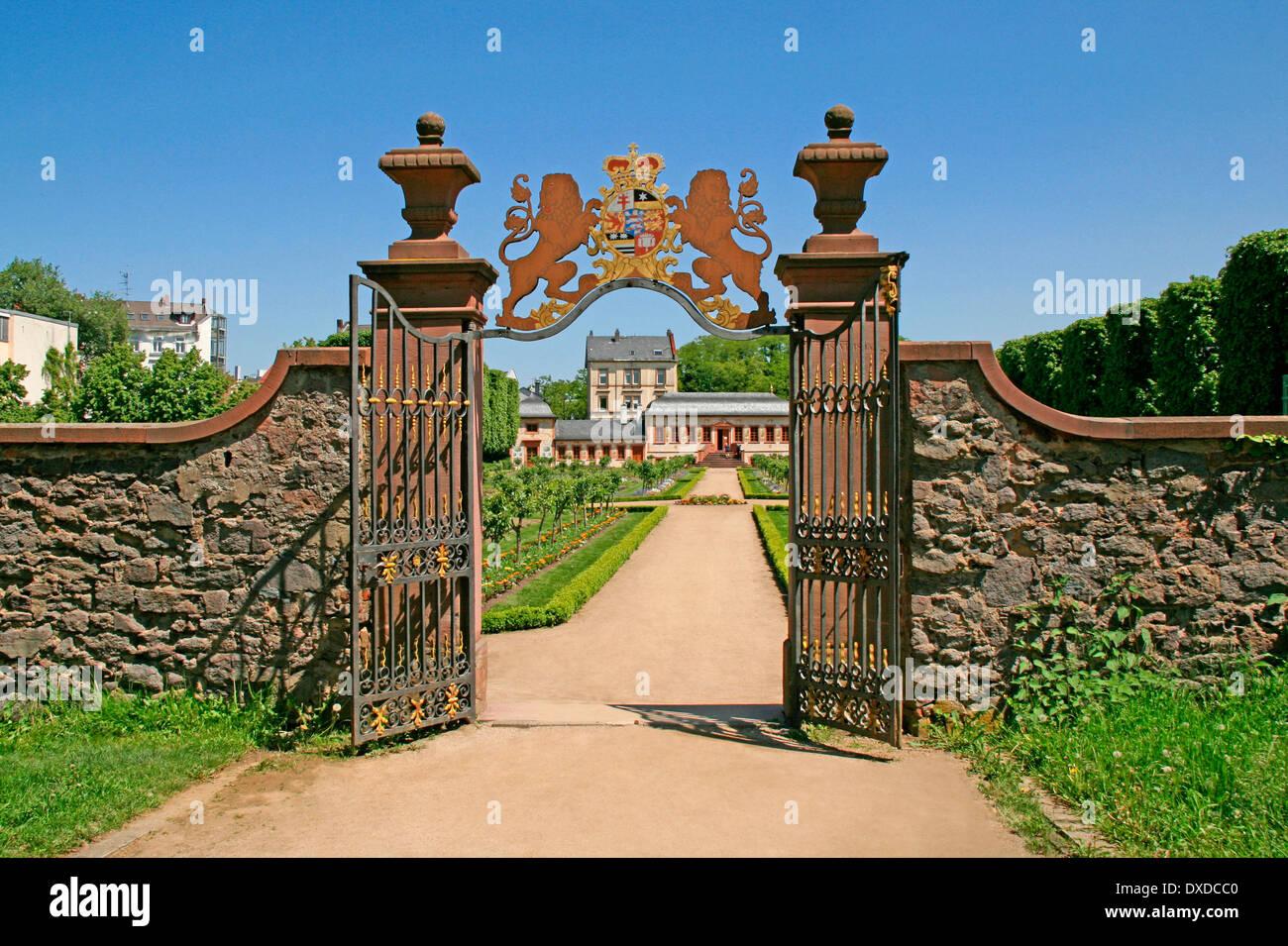 Prinz Georg Garten Darmstadt Stock Photo Royalty Free Image