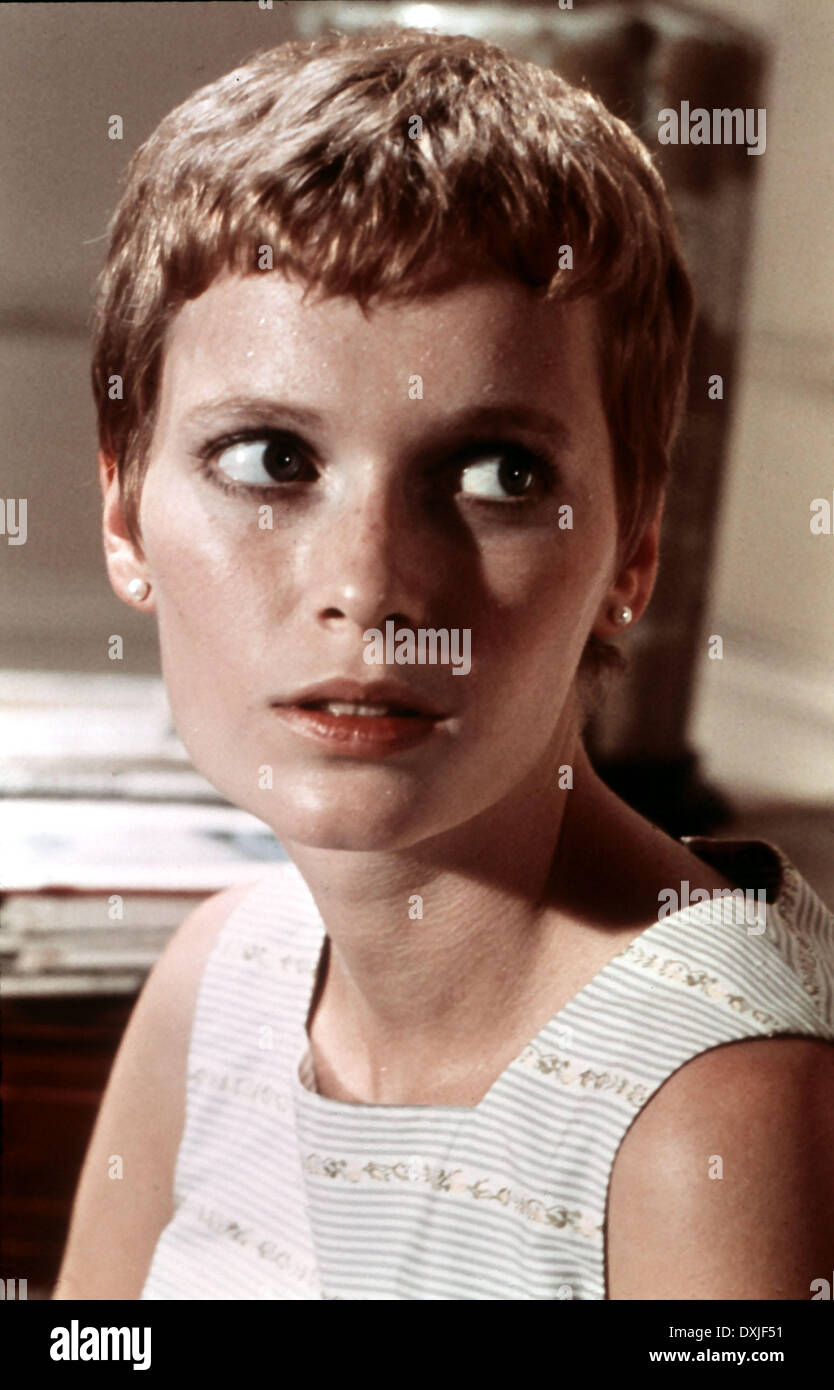 Rosemary's Baby Haircut : rosemary's, haircut, Rosemary's, Resolution, Stock, Photography, Images, Alamy