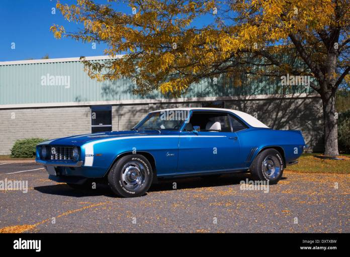 1969 Chevrolet Camaro Cowansville Quebec Canada Stock Photo Alamy