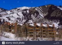 Aspen Snowmass Resort Stock &
