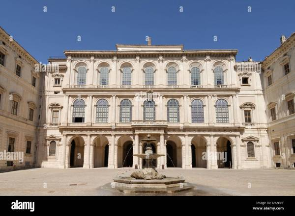 Palazzo Barberini Houses National Of Ancient Art Rome Stock 68283708 - Alamy