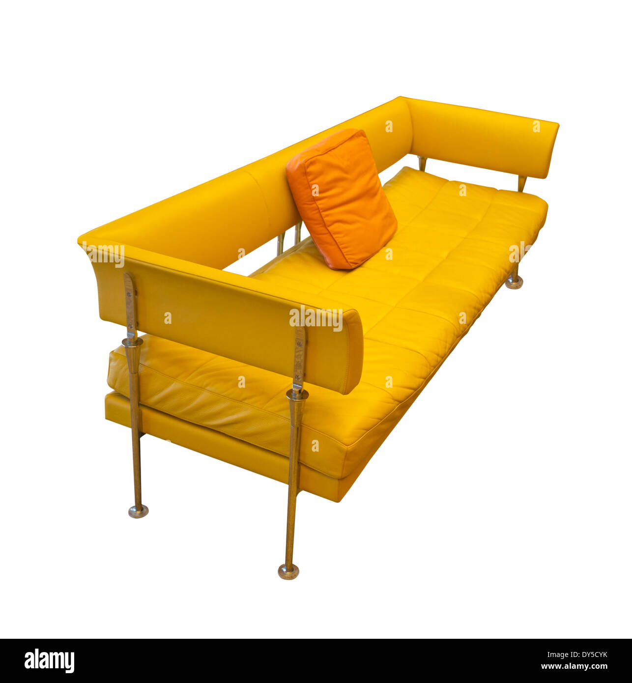 mid century egg chair herman miller chairs seattle modern stock photos yellow contemporary sofa image