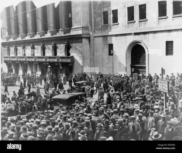 1929 Crash Stock & - Alamy