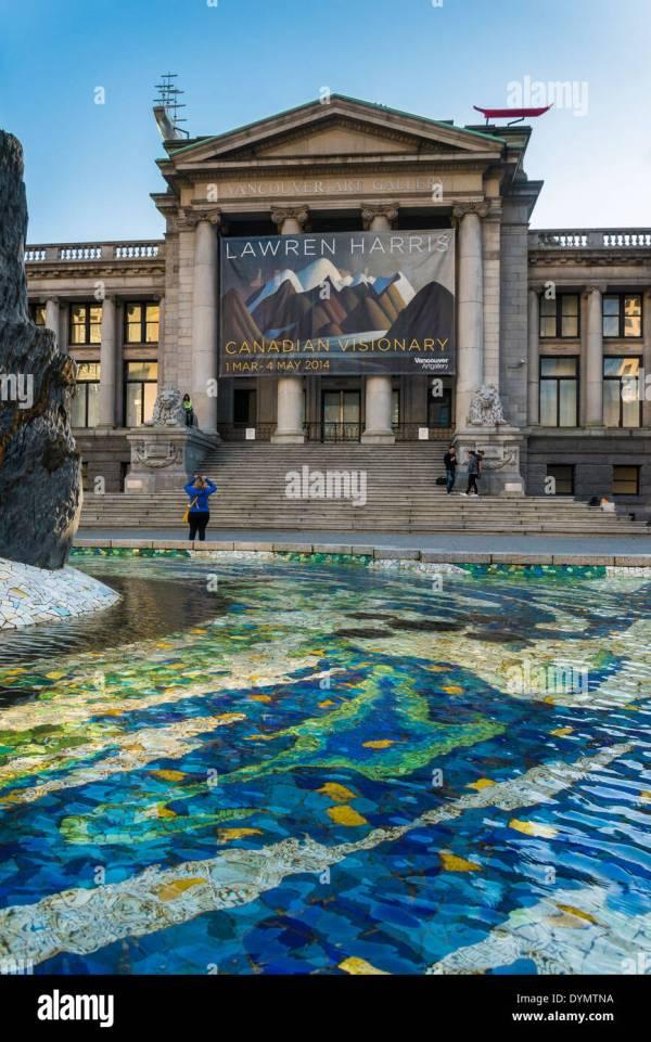 Vancouver Art Canada Stock &