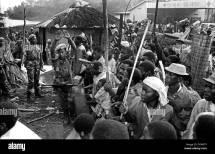 Rwanda Genocide Soldiers Stock &
