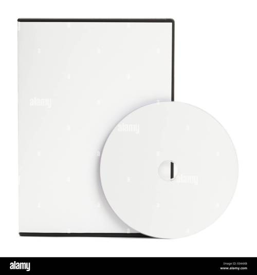 small resolution of blank white dvd case with blank disc isolated on white background stock image