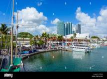Waterfront Bayside Marketplace In Downtown Miami