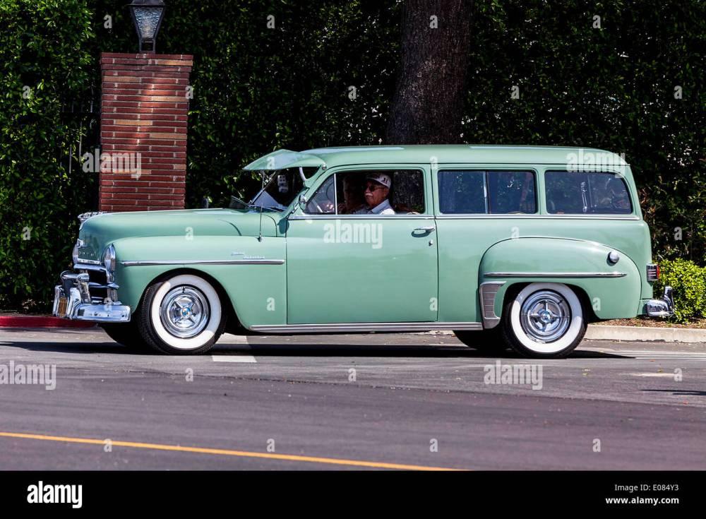 medium resolution of a 1950 plymouth suburban station wagon