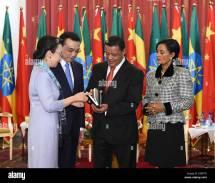 Addis Ababa Ethiopia. 6th 2014. Chinese Premier Li