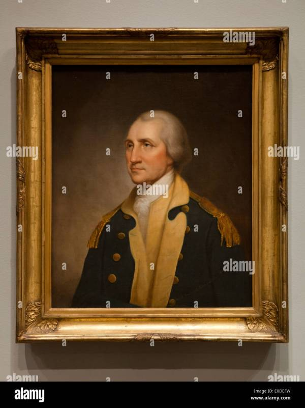 George Washington Portrait Rembrandt Peale 1859