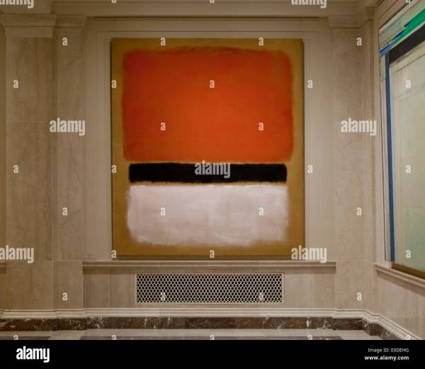"""untitled"" Mark Rothko 1955 - Smithsonian National Of Stock Royalty Free"