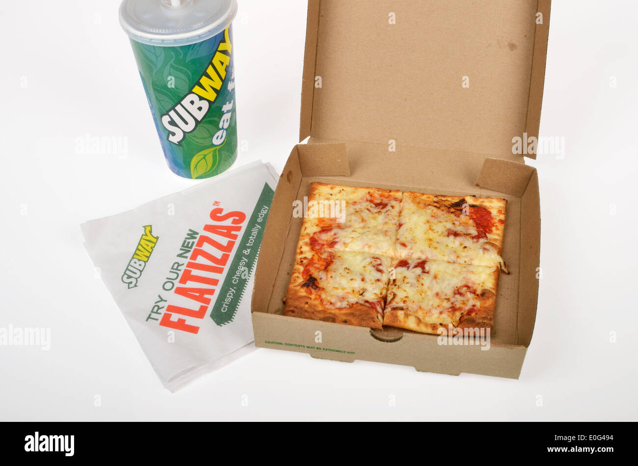 subway flatizza cheese pizza