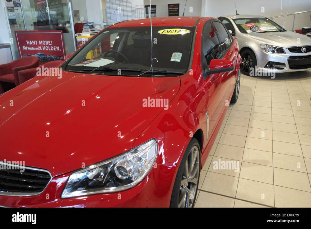 medium resolution of 2014 red holden vf series commodore for sale in a holden dealership in sydney australia