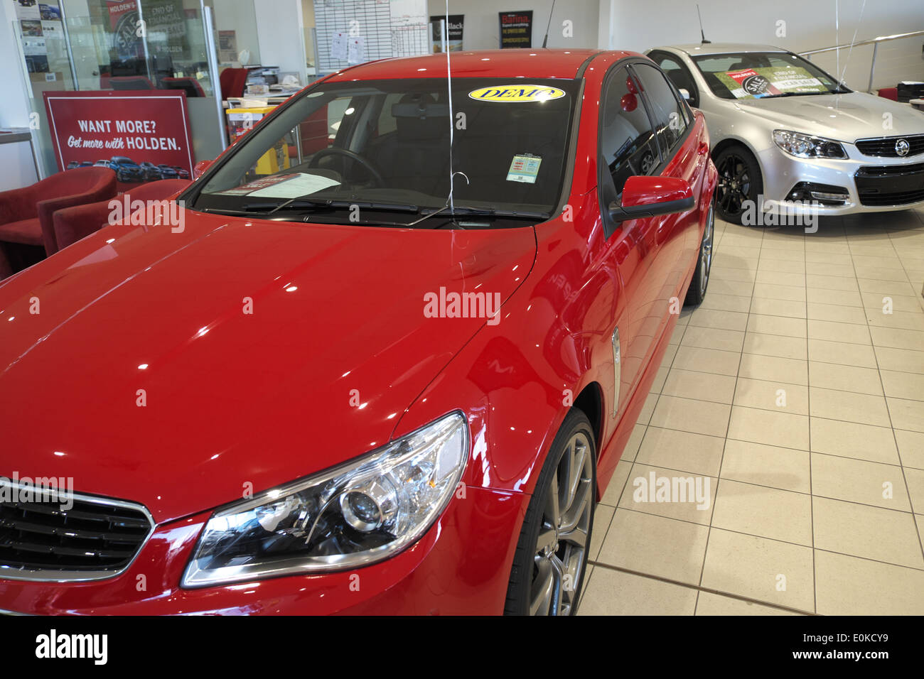 hight resolution of 2014 red holden vf series commodore for sale in a holden dealership in sydney australia