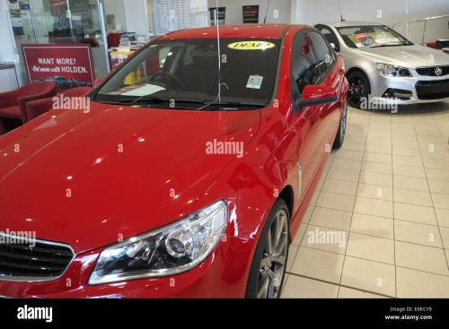 small resolution of 2014 red holden vf series commodore for sale in a holden dealership in sydney australia