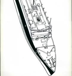 09 1985 titanic hull diagram diagram of the forward portion of [ 1038 x 1390 Pixel ]