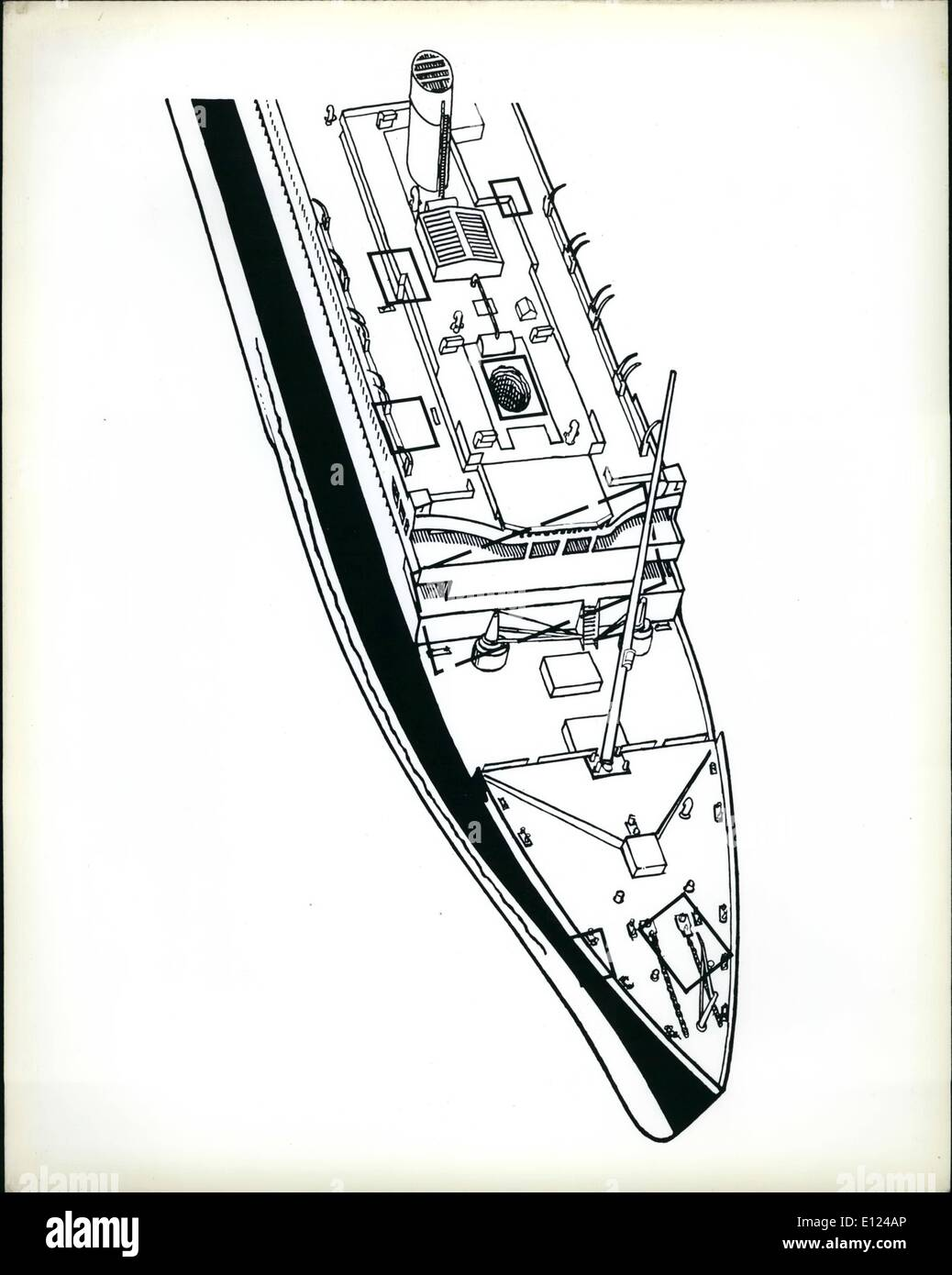 hight resolution of 09 1985 titanic hull diagram diagram of the forward portion of