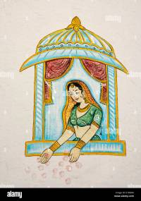Rajput Painting Rajasthani Stock Photos & Rajput Painting ...