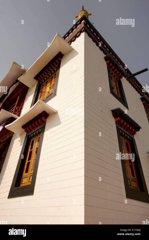 Sikkimese Architecture Stock & - Alamy