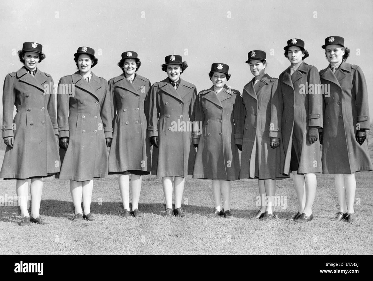 Ww2 Uniform Women High Resolution Stock Photography And