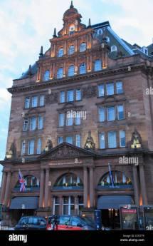 Caledonian Hotel Edinburgh Stock &