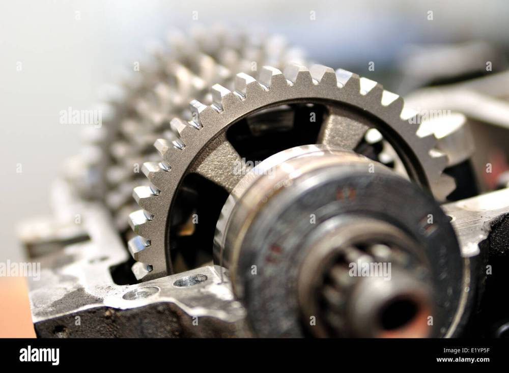 medium resolution of gears from a motorcycle gearbox
