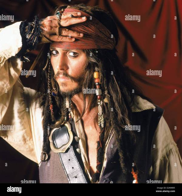 Jack Sparrow Stock & - Alamy