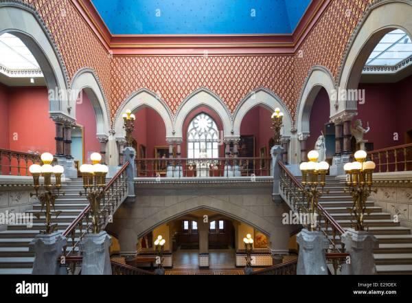 Main Staircase Pennsylvania Academy Of Fine Arts