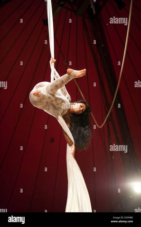 Trapeze Artist Stock &