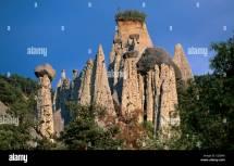 France Hautes Alpes Remollon Fairy Chimney Of De Theus