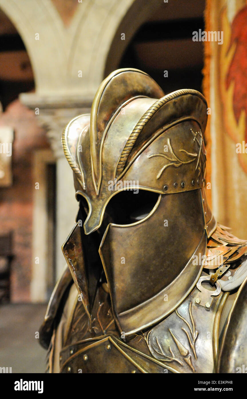 Jaime Lannisters Helmet And Armour From Game Of Thrones