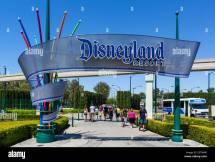 Disneyland Entrance Anaheim California