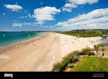 South Beach Burrows Tenby Wales Stock