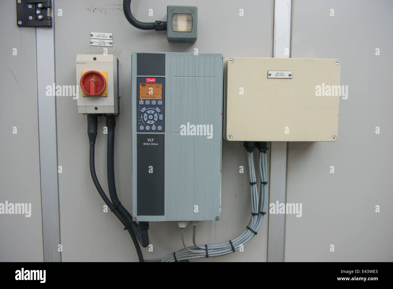 hight resolution of air handling unit control panel