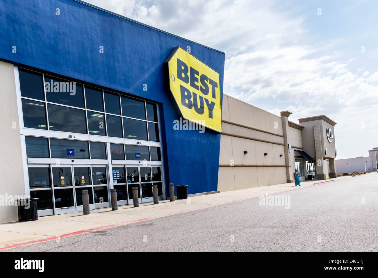 The Exterior Of Best Buy, A Chain Electronics Store In